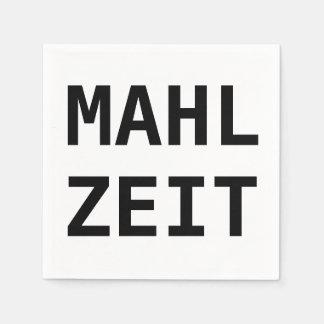 Guardanapo de papel do Serviette de Mahlzeit