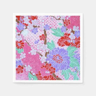 Guardanapo de papel do teste padrão de Sakura do