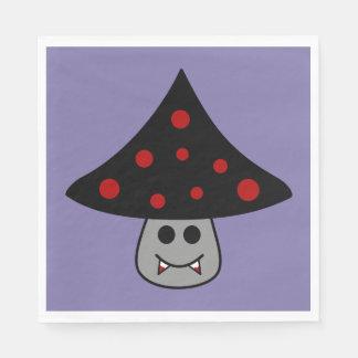 Guardanapo de papel do vampiro do cogumelo