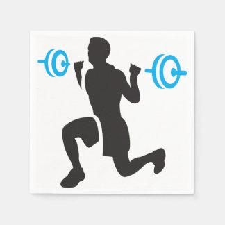 Guardanapo de papel do Weightlifter