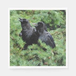 Guardanapo De Papel Dois corvos