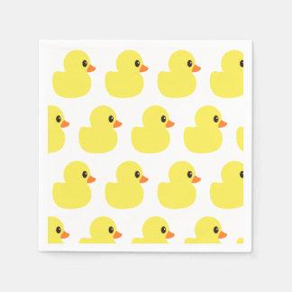 """Guardanapo de papel """"Ducky"""" de borracha"""