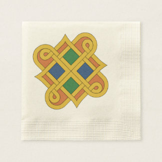 Guardanapo De Papel Durrow Knotwork 2016