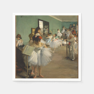 Guardanapo De Papel Edgar Desgaseifica- a classe de dança 1874