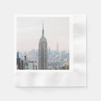 Guardanapo De Papel Empire State Building Manhattan New York