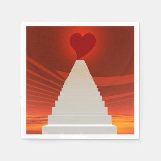 Guardanapo De Papel Escadas a amar