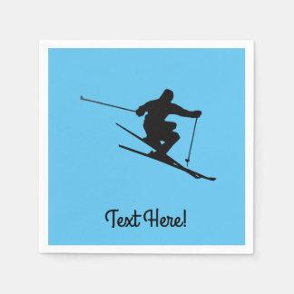 Guardanapo De Papel Esquiador