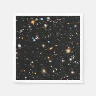 Guardanapo De Papel Estrelas e galáxias do espaço profundo