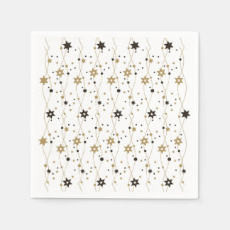 Guardanapo De Papel Estrelas elegantes de Hanukkah