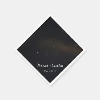 Guardanapo De Papel Estrelas no céu nocturno
