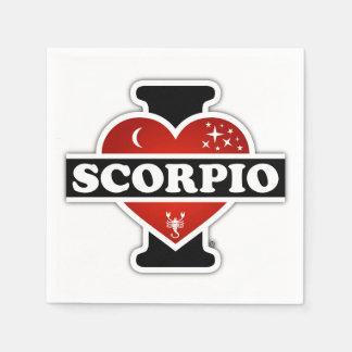 Guardanapo De Papel Eu amo a Escorpião