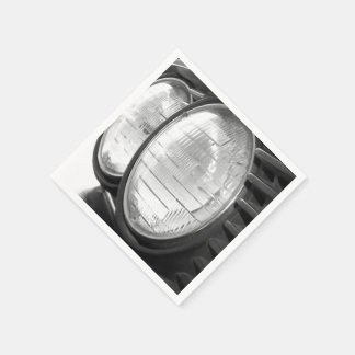 Guardanapo De Papel Faróis de BMW do vintage