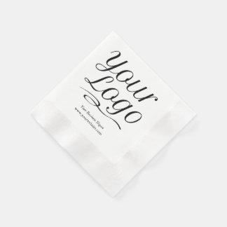 Guardanapo de papel feitos sob encomenda com texto