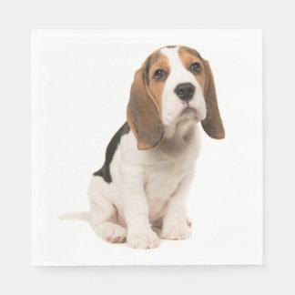 Guardanapo De Papel Festa de casamento do cão de filhote de cachorro