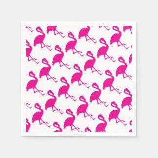 Guardanapo De Papel Flamingo do rosa quente