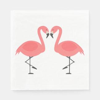 Guardanapo De Papel Flamingos cor-de-rosa que Wedding, verão de Luau