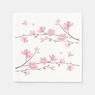 Guardanapo De Papel Flor de cerejeira - fundo transparente