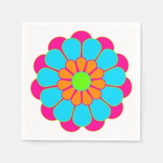 Guardanapo De Papel Flor engraçada III de flower power + sua ideia