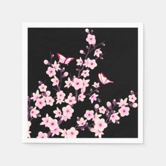 Guardanapo De Papel Flores de cerejeira florais