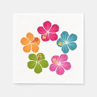 Guardanapo De Papel Flores do hibiscus