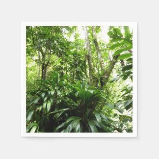 Guardanapo De Papel Floresta tropical dominiquense mim natureza verde