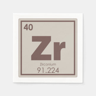 Guardanapo De Papel Formul da química do símbolo do elemento químico