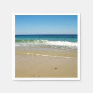 Guardanapo De Papel Foto da praia