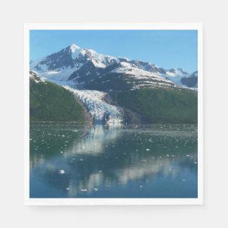 Guardanapo De Papel Fotografia bonita do fiorde II Alaska da faculdade