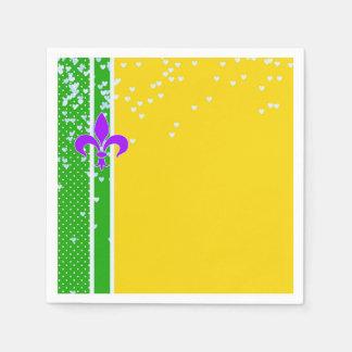 Guardanapo De Papel Francês Nova Orleães da flor de lis do partido |