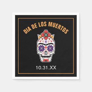Guardanapo De Papel Frida Kahlo | Diâmetro De Los Muertos