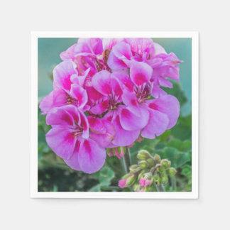 Guardanapo De Papel Gerânio cor-de-rosa