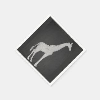 Guardanapo De Papel Girafa do giz