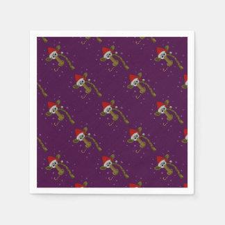 Guardanapo De Papel Girafa do Natal