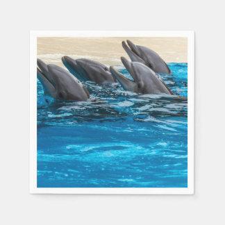 Guardanapo De Papel Golfinhos