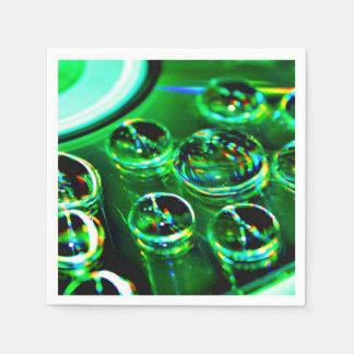 Guardanapo De Papel Gotas de água na superfície CD
