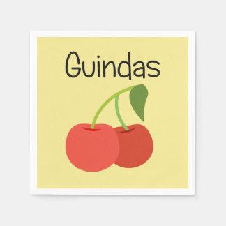 Guardanapo De Papel Guindas (cerejas)
