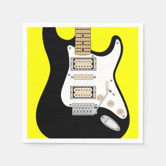 Guardanapo De Papel Guitarra elétrica
