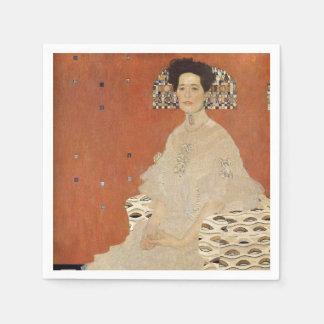 Guardanapo De Papel GUSTAVO KLIMT - Retrato de Fritza Riedler 1906