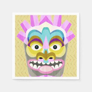 Guardanapo De Papel Hawaiian tribal Luau de Tiki