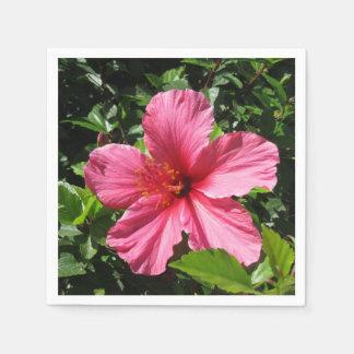 Guardanapo De Papel Hibiscus cor-de-rosa escuro