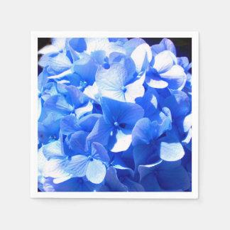 Guardanapo De Papel Hydrangea dos azuis cobaltos