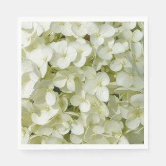 Guardanapo De Papel Hydrangeas Guardanapo-Brancos de papel