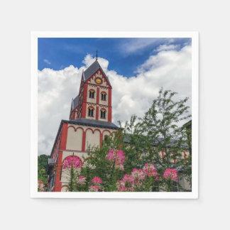 Guardanapo De Papel Igreja de St Bartholomew, Liege, Bélgica