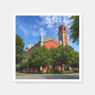 Guardanapo De Papel Igreja luterana nova em Kezmarok, Slovakia