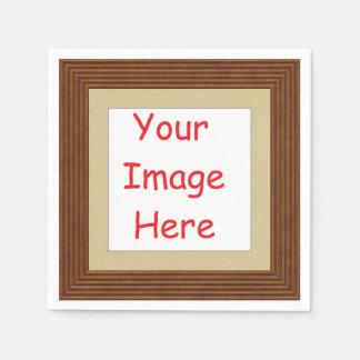 Guardanapo De Papel Imagem impressa personalizada personalizada do