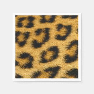 Guardanapo De Papel Impressão da pele do leopardo