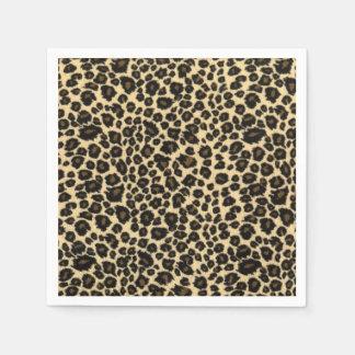 Guardanapo De Papel Impressão do leopardo