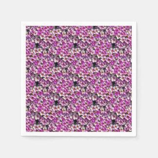 Guardanapo De Papel Impressão floral bonito dos petúnias cor-de-rosa e