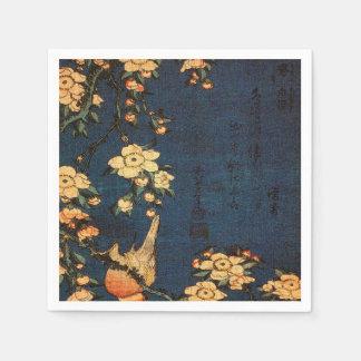 Guardanapo De Papel Impressão tradicional do papel japonês do vintage