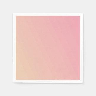 Guardanapo De Papel Inclinação cor-de-rosa Textured